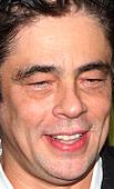 Actor Benicio Del Toro
