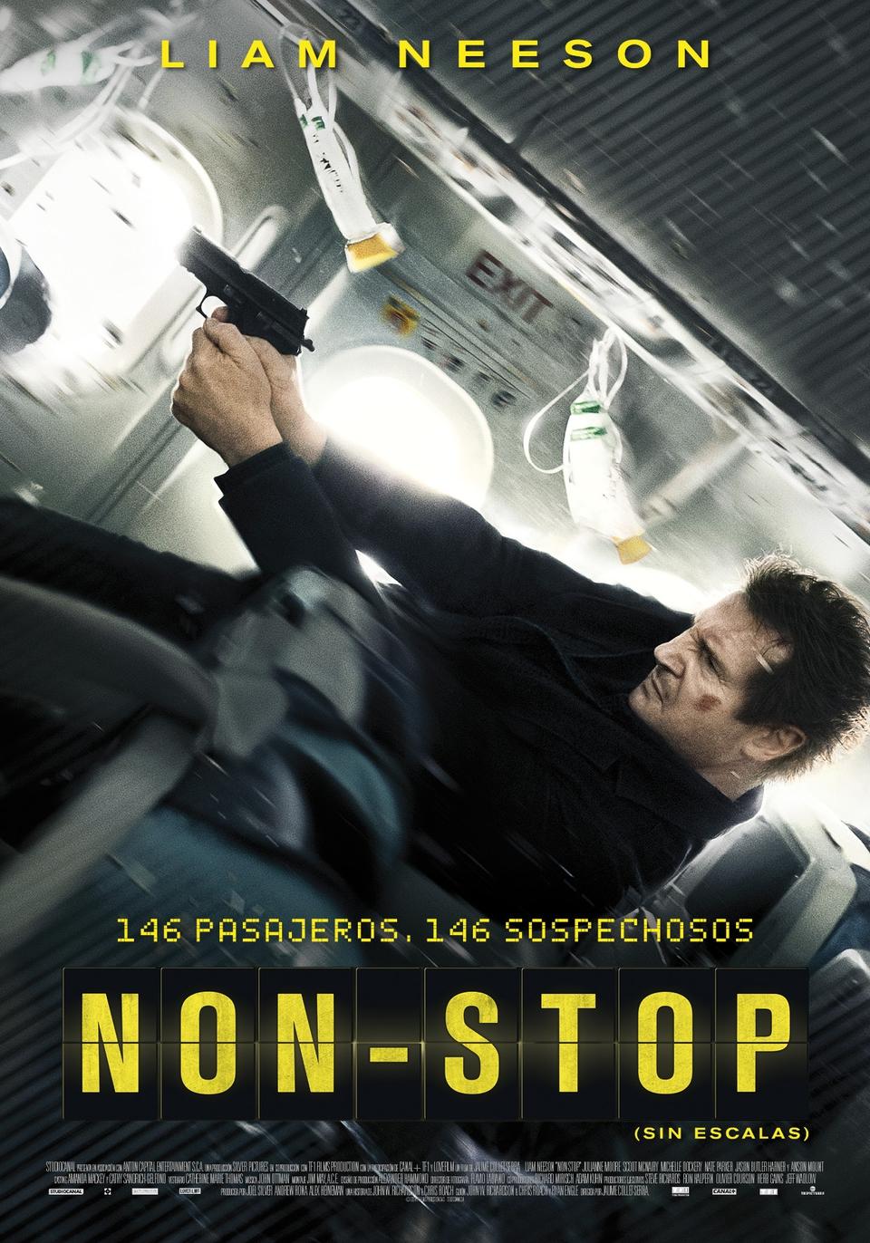 Película Non-Stop (Sin escalas) torrent descargar gratis online