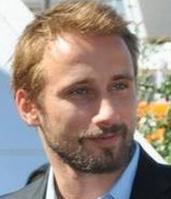 Actor Matthias Schoenaerts