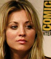 Actor Kaley Cuoco