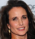 Actor Andie MacDowell