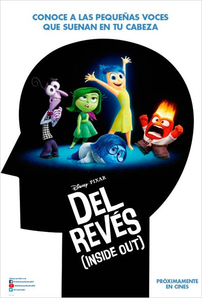 Del revés (Inside Out) torrent gratis online