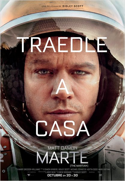 Película Marte (The Martian) torrent descargar gratis