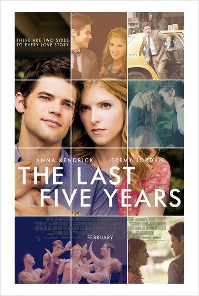 Película Los últimos cinco años
