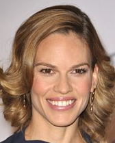 Actor Hilary Swank