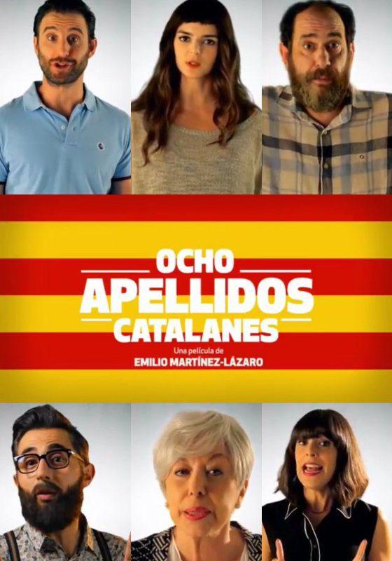 Película Ocho apellidos catalanes