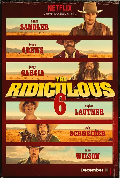 Película The Ridiculous 6