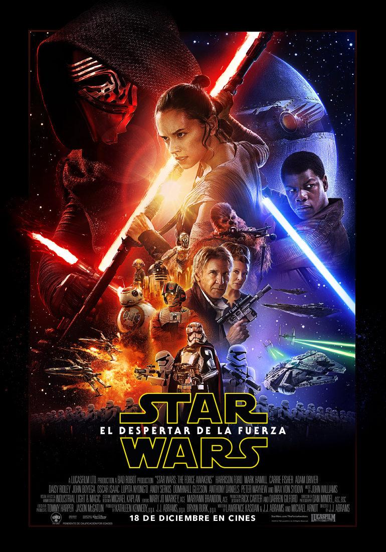Películas Star Wars: Episodio VII – El despertar de la fuerza